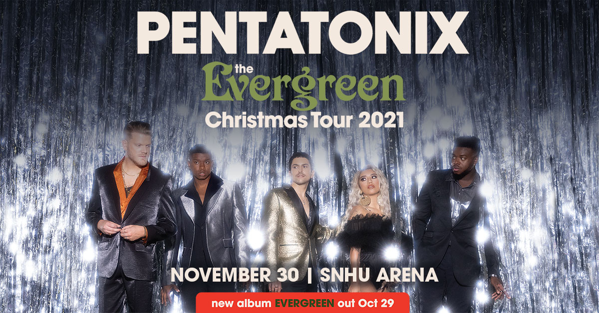 PENTATONIX - The Evergreen Christmas Tour
