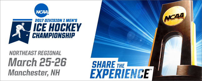 2017 NCAA D1 Men's Hockey Northeast Regional