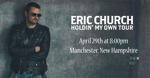 Eric Church- Holdin' My Own Tour