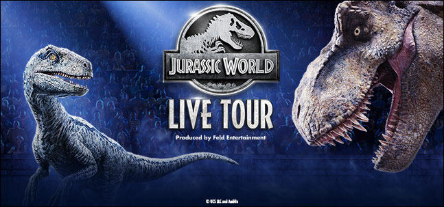 Canceled:  Jurassic World Live Tour