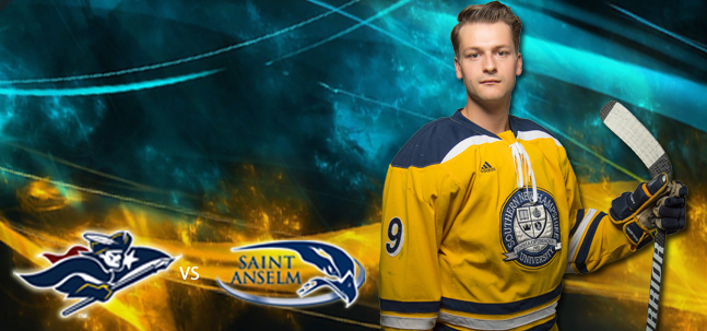 SNHU Men's Hockey vs St. Anselm