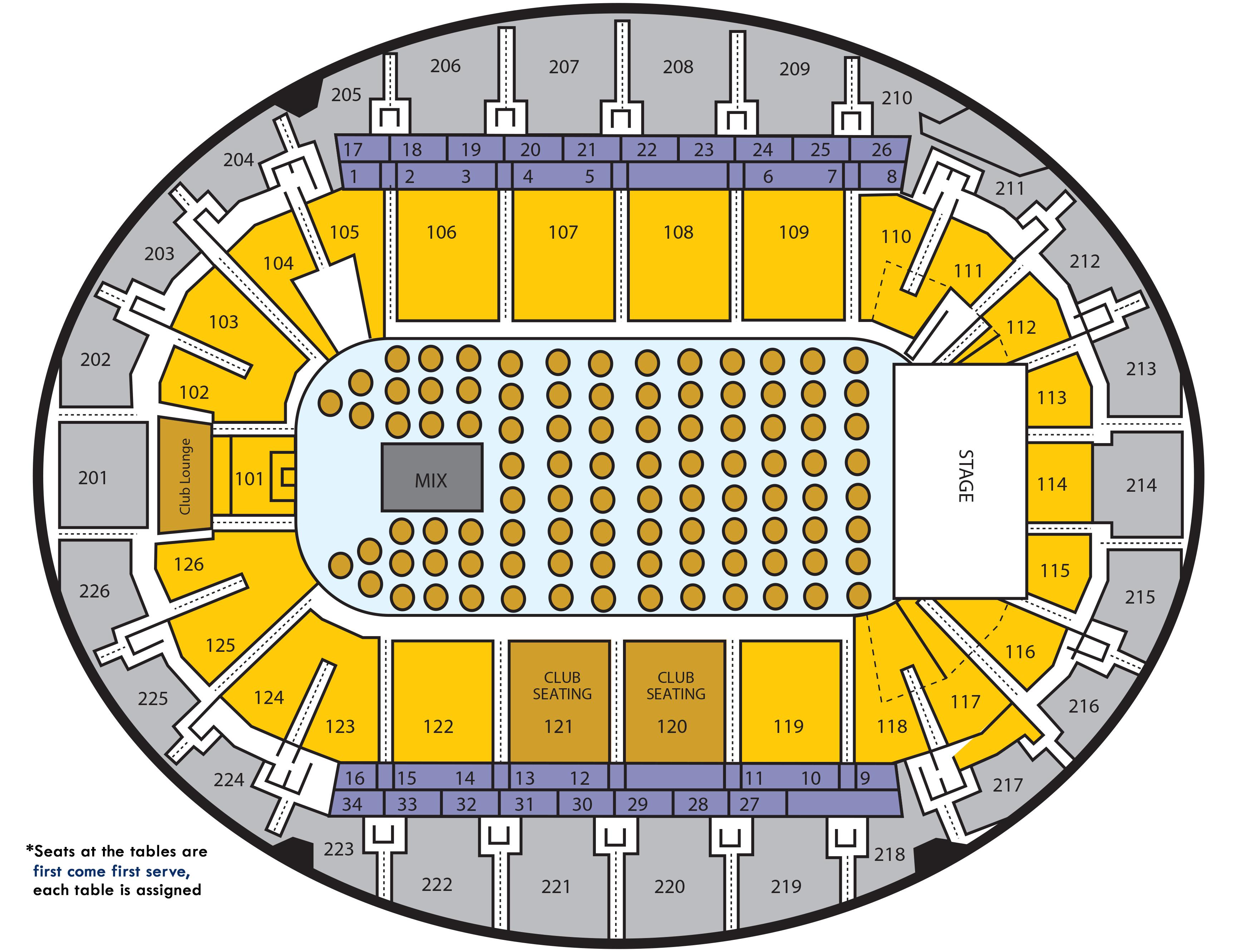 SNHU Arena: Seating Charts
